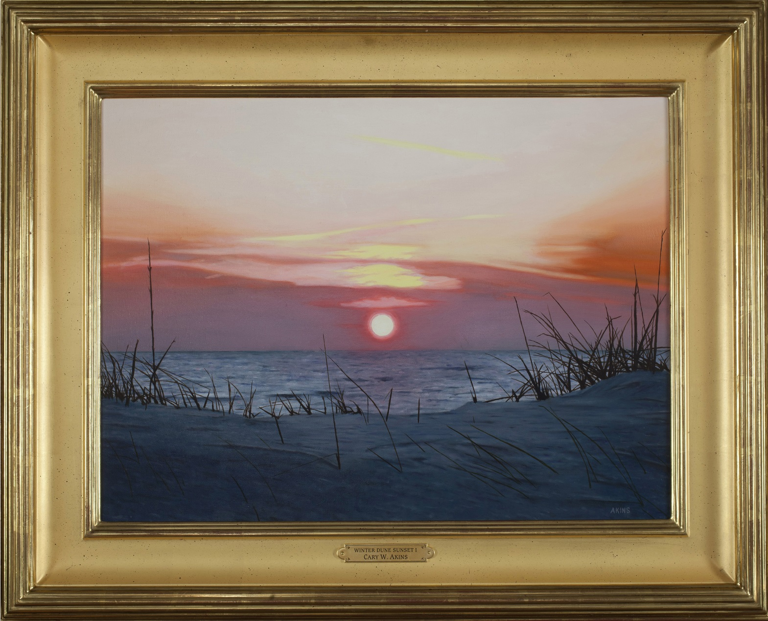 Winter Dune Sunset I