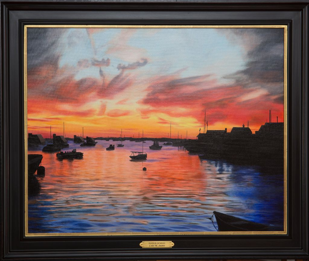 4420-20Harbor20Sunrise20Framed